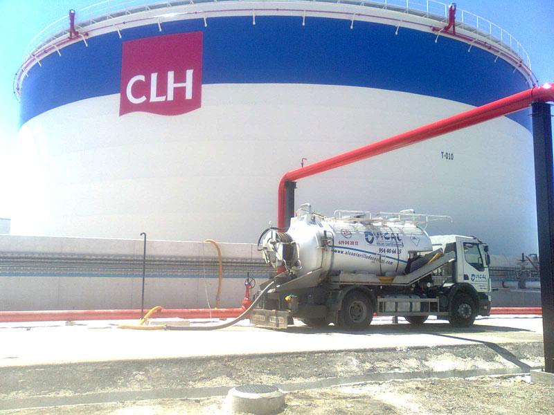 limpieza silos CLH
