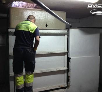 Reparación de arquetas en Apartamentos Lux Sevilla
