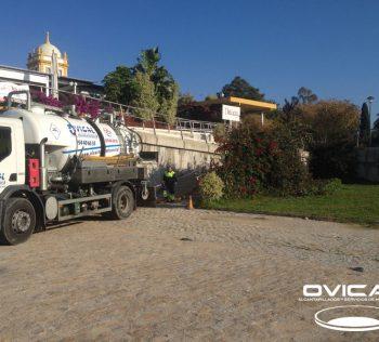 Limpieza de Pozos en Parking las Delicias