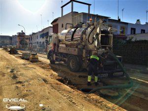 Limpieza puntual preventiva en Urbanización Montequinto