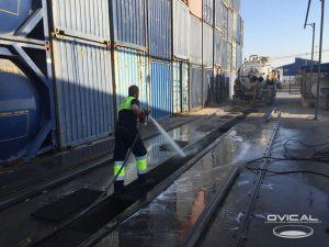 limpieza de separadores de hidrocarburos
