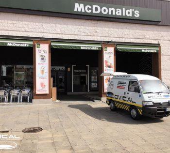 Limpieza de Canalizaciones McDonalds en Sevilla