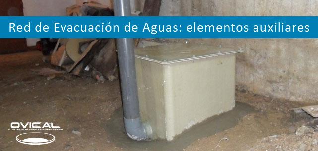 red de evacuación de aguas