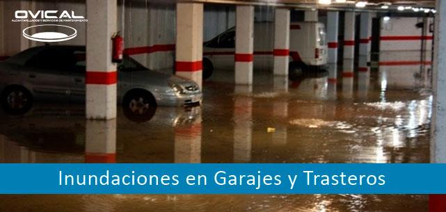 inundaciones en garajes
