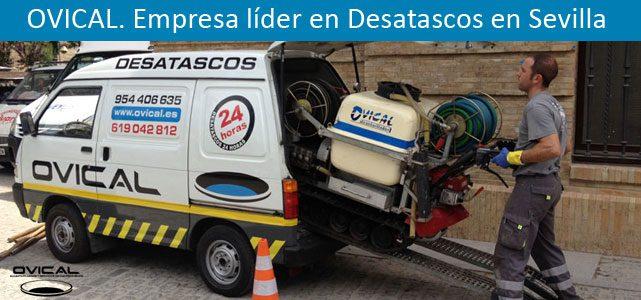 Desatascos en Sevilla: Servicio 24 horas