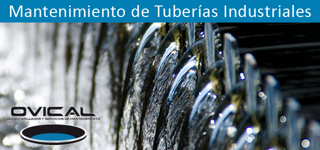 Mantenimiento de tuberías industriales