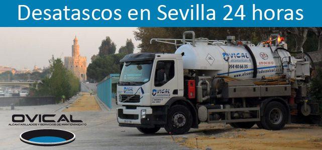 OVICAL, empresa de Desatascos en Sevilla: Servicio 24 horas
