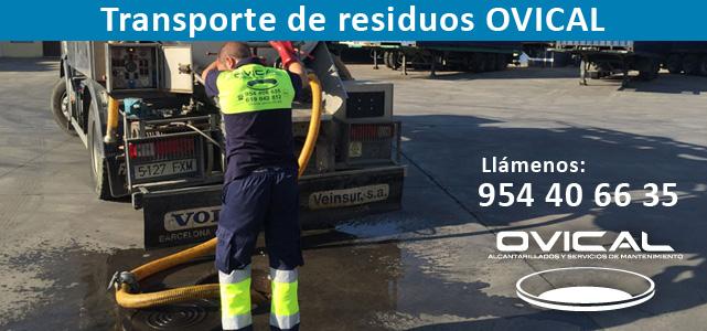 Transporte de residuos OVICAL